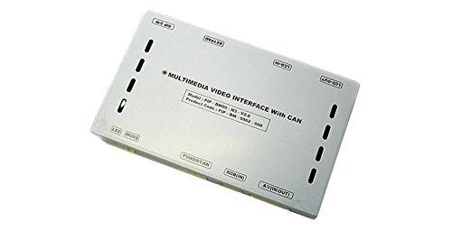 インターフェイスジャパン インターフェイス AU-LEPLUS04 AUDI アウディー LE-PLUS AVインターフェイス A8 S8(MMI 2G 2005-2009 DVDナビ装着車) 地デジ インターフェイス バックカメラ割り込み B01H53QQW0