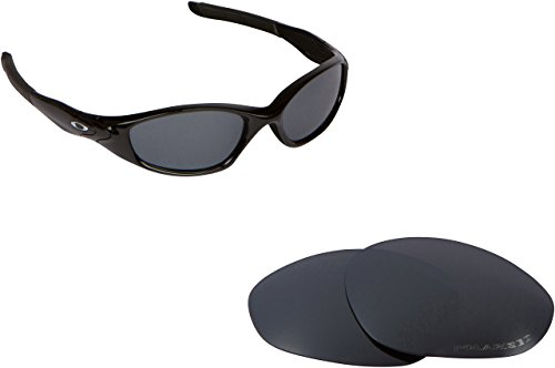 Oakley Minute Lenses Replacement - New SEEK OPTICS Replacement Lenses Oakley MINUTE 2.0 - Polarized Black Iridium