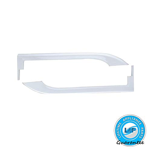 Lifetime Appliance 5304506469 Door Handles Compatible with Frigidaire Refrigerator - 5304504507, 5304486359, 242059501, 242059504-1 Year Warranty!