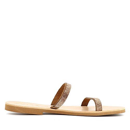Shoes Greta Sandale Marron Femme Fin Daim Evita HU0pTw4wq