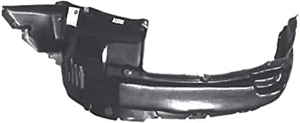 Partslink Number TO1250109 OE Replacement Toyota 4-Runner Front Driver Side Fender Splash Shield