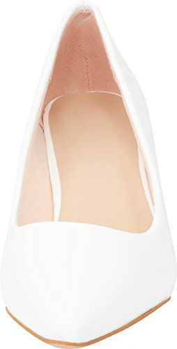2694613269 ... Cambridge Select Women's Classic Closed Pointed Toe Slip-On Low Kitten  Heel Pump,10 ...