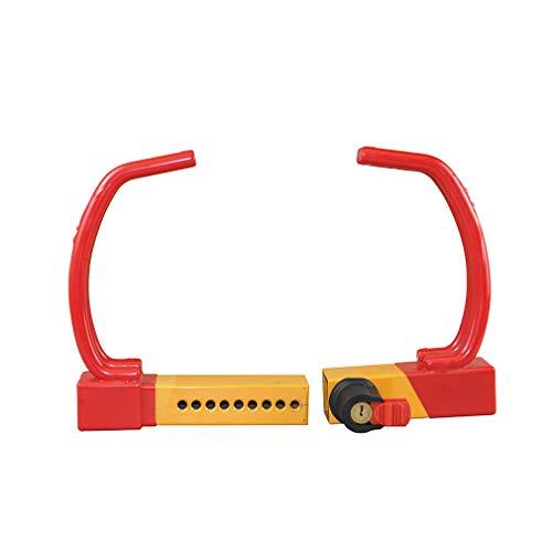 Red Universal Heavy Duty Security Anti-Theft Wheel Clamp Max 12'' Lock w/2 Keys by OKLEAD (Image #4)