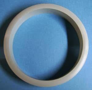 "6"" Trash ring gray 8/pkg"