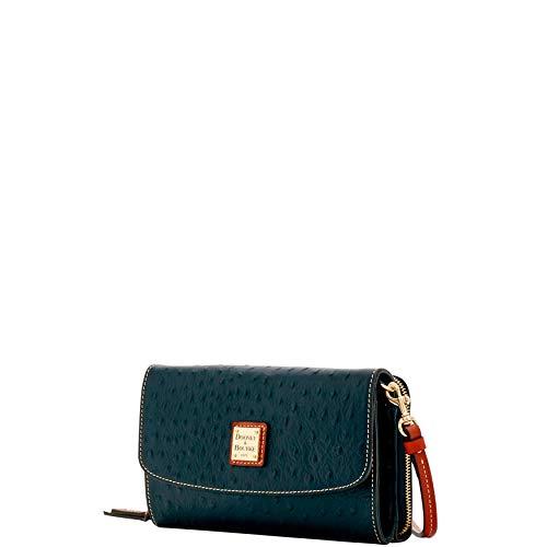 Black Clutch Dooney amp; Bourke Wallet Ostrich Wallet qv77Ytrx