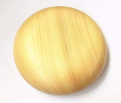 FidgetKute Handmade 4 Size Domed Wooden Hat Fascinator Base Millinery Block with Stand B051 (Hat Blocks Millinery)