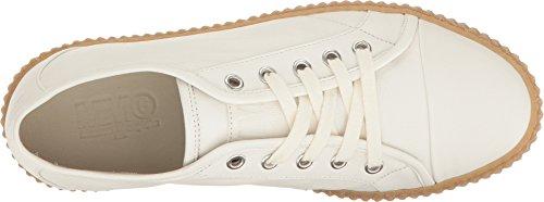 Zapatillas Mujer Plataforma Margiela Mm6 Blanco Cuero