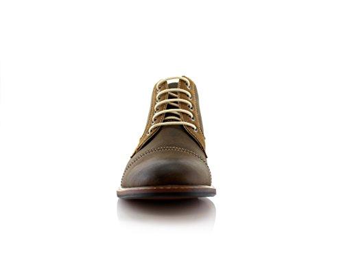 Ferro Aldo Eli MFA506013 Mid Top Casual Work Boots For Every Day Wear Brown 207 0ELMolyGzP