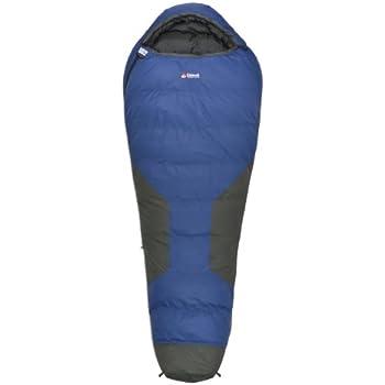 Chinook Polar Ice Mummy Down -22-Degree Sleeping Bag, Blue