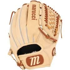 Marucci MFGHG12BT-CM-RG Honor The Game Series Baseball Fielding Gloves, Camel, 12