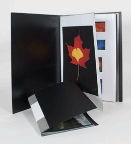 ITOYA 18 inch x 24 inch Original Art Profolio Presentation Book/Portfolio- for Art, Photography, and -