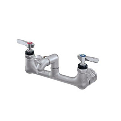 Wall Mount Service Sink - 8'' Centers - 2-1/2'' Cast Threaded Spout by Encore