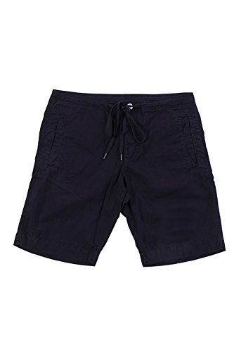 VELVET BY GRAHAM & SPENCER Men's Cristobal Woven Short with Flat Front Pockets, Neptune/Navy, 34 by Velvet by Graham & Spencer
