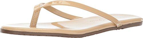 (TKEES Women's Flip-Flop-Glosses Opal Sandal 11 B - Medium)