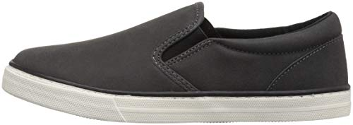 The Children's Place Boys' Slip Sneaker, BLACK02, Youth 1 Child US Little Kid by The Children's Place (Image #5)