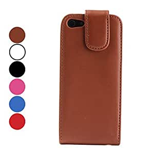 YXF PU Leather Case with Mirror for iPhone 5 (Assorted Colors) , Rose