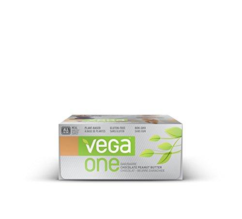 Vega One All-In-One Meal Bars-Chocolate Peanut Butter Box Vega 12(2.26oz) Box (Replacement Vega)