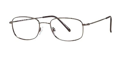Flexon Autoflex 47 Eyeglasses 033 Gunmetal Demo 56 19 - Eyeglass Prices Best