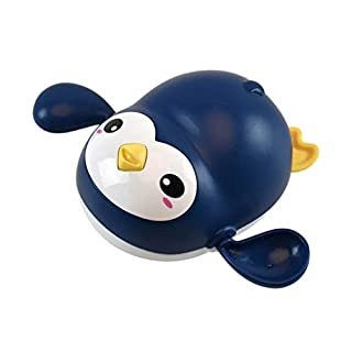 New Baby Bath Swimming Bath Pool Toy Cute Wind Up Penguin Animal Bath Toy Toys and Hobbies Bath Toy Onsale