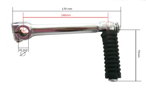 16 mm HMParts Pit Bike Dirt Bike Dirt Max  Kickstarter YX 140 ccm