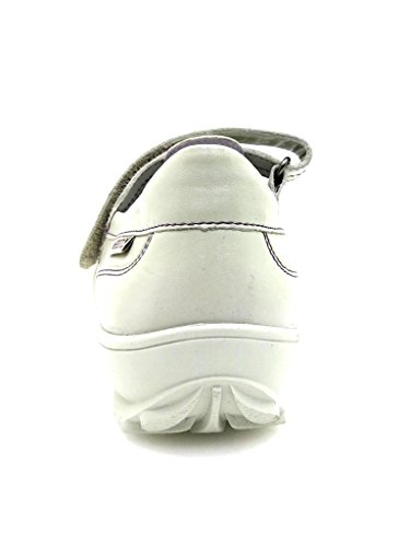 Ballerines gris Clair Mephisto cuir Chaussures Rond De Barline Dames Extérieur en Ballerines Gris x1Ongq8