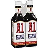 A-1 Steak Sauce - 2/15oz bottles
