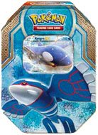 Pokemon Legends of Hoenn Kyogre-EX Collector Tin