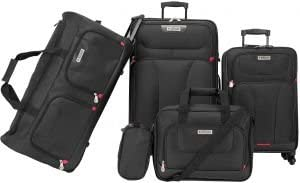46% off American Explorer luggage set of 5 pieces