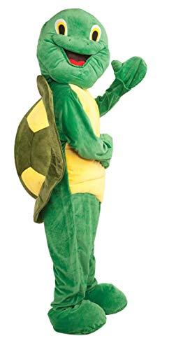 Forum Deluxe Plush Turtle Mascot Costume, Green,