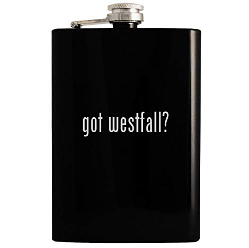 got westfall? - 8oz Hip Drinking Alcohol Flask, - Stacy Activity Westfall Ball