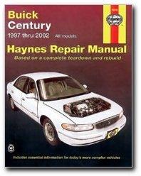 haynes manuals 19010 buick century 97 02 0038345190100 amazon com rh amazon com 1998 Buick Century Repair Manual 2002 Buick Century