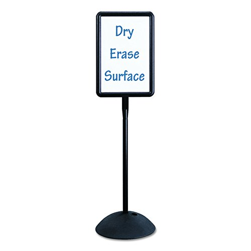 Safco Products 4117BL Write Way Rectangle Message Board, ()