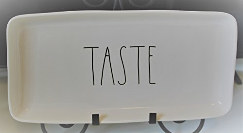 Rae Dunn TASTE in Large Letters 14 inch Serving Dinner Dessert Appetizer Platter Tray. By Magenta.