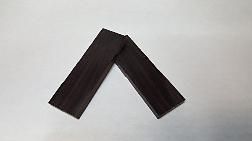 Cocobolo Knife Scales (Natural Wood African Blackwood Knife Scales)