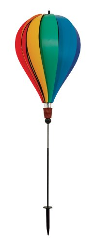 Poly Spinner (In the Breeze Rainbow Poly 10-Panel Hot Air Balloon Ground)