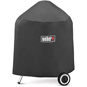 weber 7450 standard kettle cover fits 18 1 2 inch charcoal grills outdoor grill. Black Bedroom Furniture Sets. Home Design Ideas