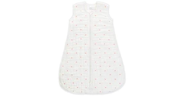 Amazon.com: aden + anais Multi-Layer Sleeping Bag - Lovebird - Rose Water Dot - 6-12m: Baby