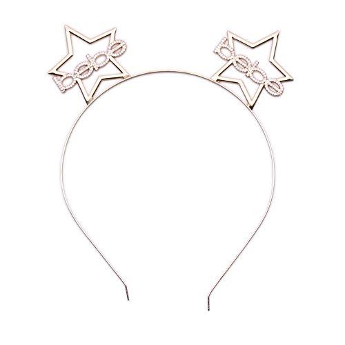 bebe Logo Girls Star Ears Headband