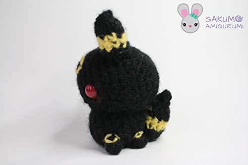 Pokemon Amigurumi Nachtara / Umbreon Amigurumi | Etsy | 333x500