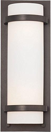 (Minka Lavery Wall Sconce Lighting 341-172 Glass 2 Light 200 watt (17