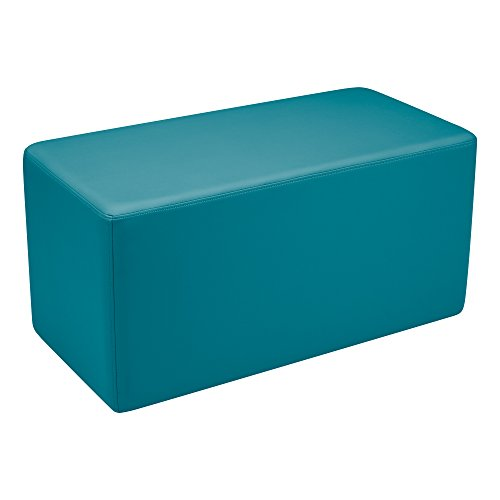 Vinyl Seating - Sprogs Vinyl Soft Seating Rectangle Stool/Bench, 18