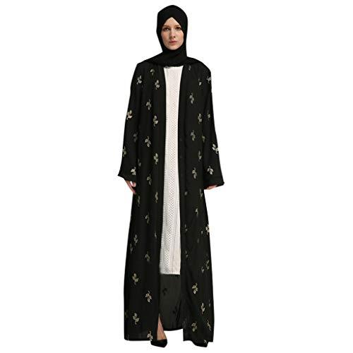 Matasleno Muslim Dress Dubai Kaftan Women Long Sleeve Arabic Long Dress Abaya Islamic Clothing Girls Jalabiya Caftan Black