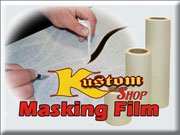 Custom Shop 12 X 150 Roll of Clear Masking Film//Frisket for Artists Airbrush Graphics