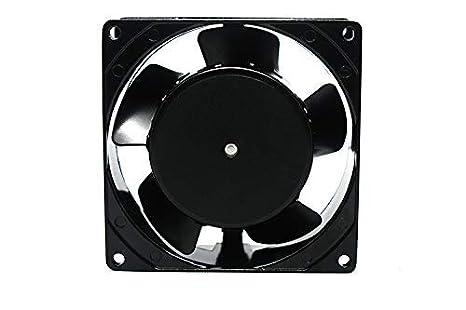Luft Ventilador para cassette,insertable,ventilador axial 92x92x38 mm,aspas metálicas,super silencioso.: Amazon.es: Bricolaje y herramientas