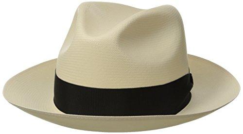 Stetson Men's Breakers Premium Shantung Straw Hat, Natural, 7.625 (Stetson Rodeo)