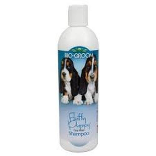 Bio-Groom Fluffy Puppy No Tears Shampoo for sensitive skin, 12-ounce (packaging may vary)