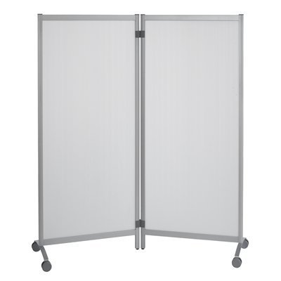 PaperFlow Mobile Partition, 67 x 30 Inches, Transparent, 2 Partitions per Pack (CR01X2.00) by Paperflow
