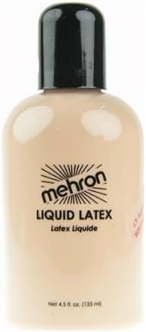 Mehron Makeup Liquid Latex Light Flesh, 4.5 ounce