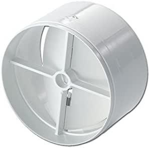 Redondo Sistema Válvula antirretorno 125er Sistema de gestión de aire MD8080 de campana extractora: Amazon.es: Grandes electrodomésticos