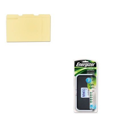 KITEVECHFCUNV12113 - Value Kit - Energizer Family Battery Charger (EVECHFC) and Universal File Folders (UNV12113)
